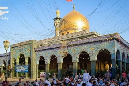 نصب حفاظی با ۳۶ متر طول، پیرامون حرم حضرت عباس (ع)